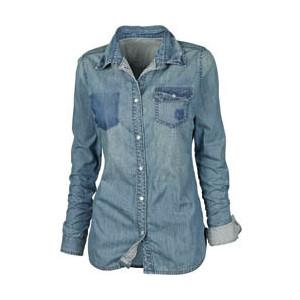 Quero Esse Look Camisa Jeans Quatro Vezes Tpm