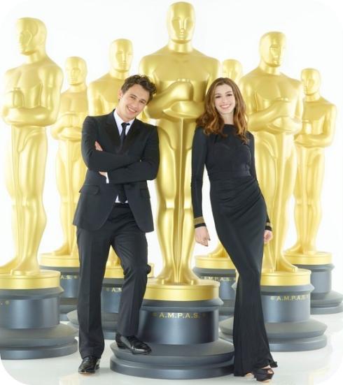 Anne Hathaway James Franco: Quatro Vezes TPM